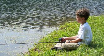 rybářští začátečníci