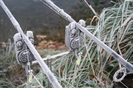 chytání v zimě